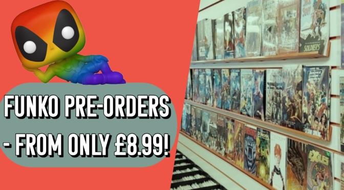 Sale on Funko Pop Pre-Orders!